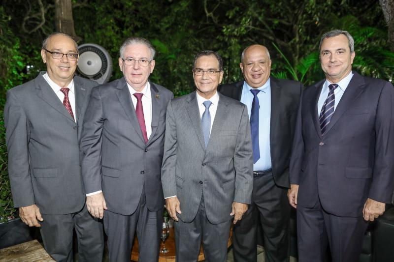 Jose Dias, Ricardo Cavalcante, Beto Studart, Jorge Alfredo e Kalil Otoch
