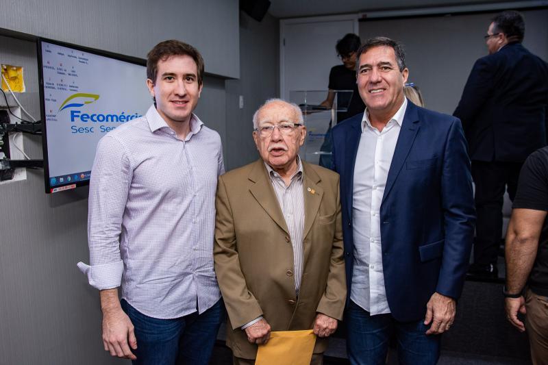 Luis Fernando, Ubiratan Aguiar e Luiz Gastao Bittencourt