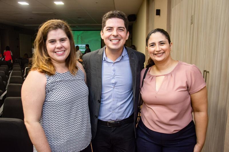 Ana Elisa Cidrin, Paulo Junior Pinheiro e Juliana Bonfim