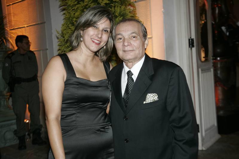 Eveline Urano e Chico Bilas
