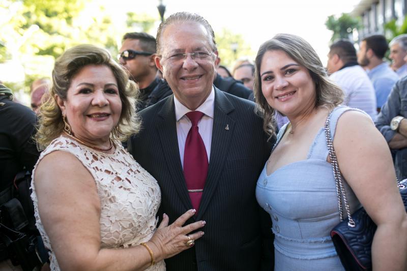 Marta Peixe, Jose Waldo Silva e Melissa Couto
