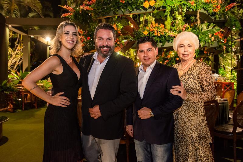 Renata Garcia, Mario Sergio Garcia, Pompeu Vasconcelos e Alodia Guimaraes