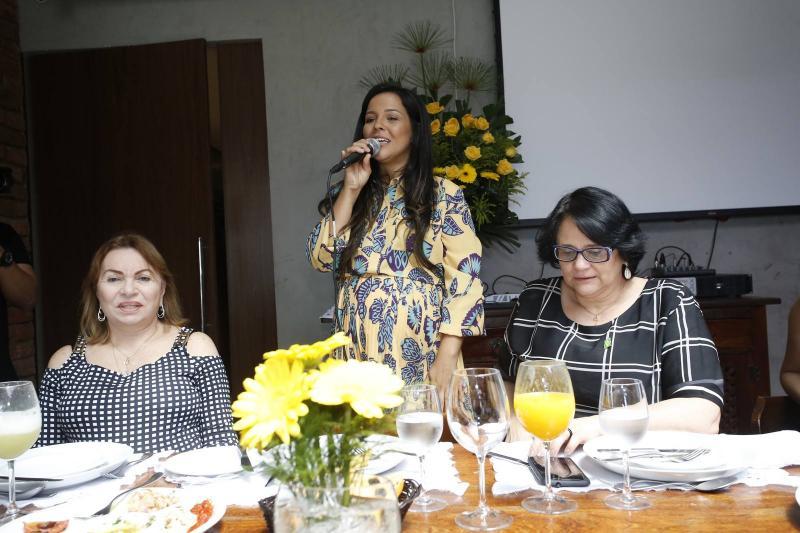 Gorete Pereira, Priscila Costa e Damares Alves