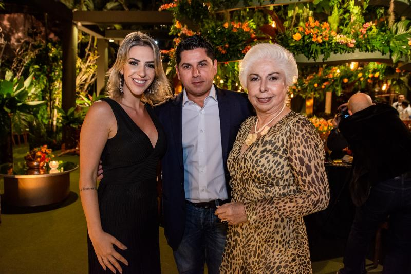Renata Garcia, Pompeu Vasconcelos e Alodia Guimaraes