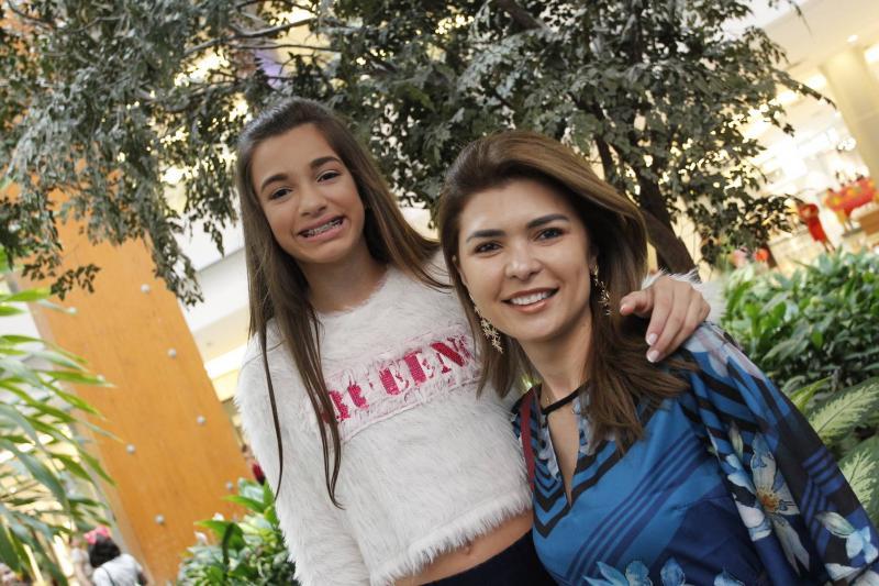 Sophia Leitao e Viviane de Oliveira