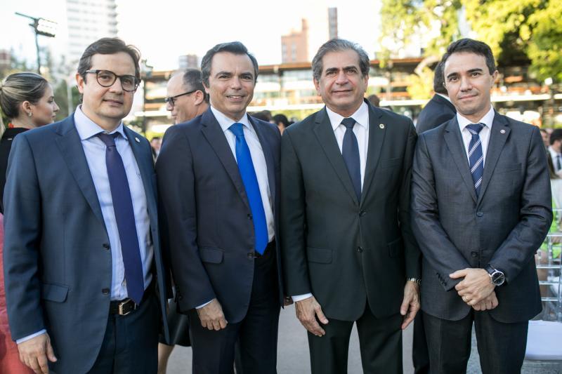 Edilberto Pontes, Juvencio Viana, Zezinho Albuquerque e Placido Rios