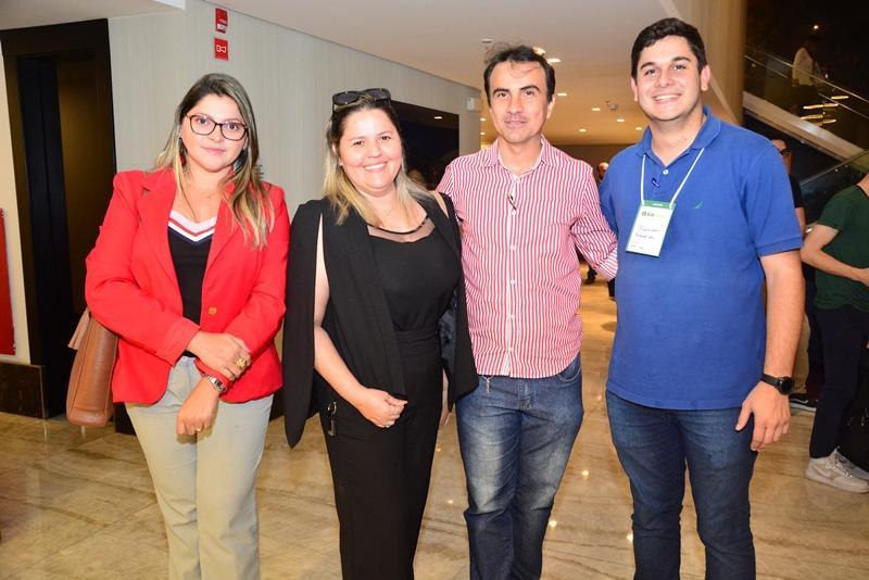 Jessica Carvalho, Jenny Carvalho, Carlos Rocha e Romualdo Neto