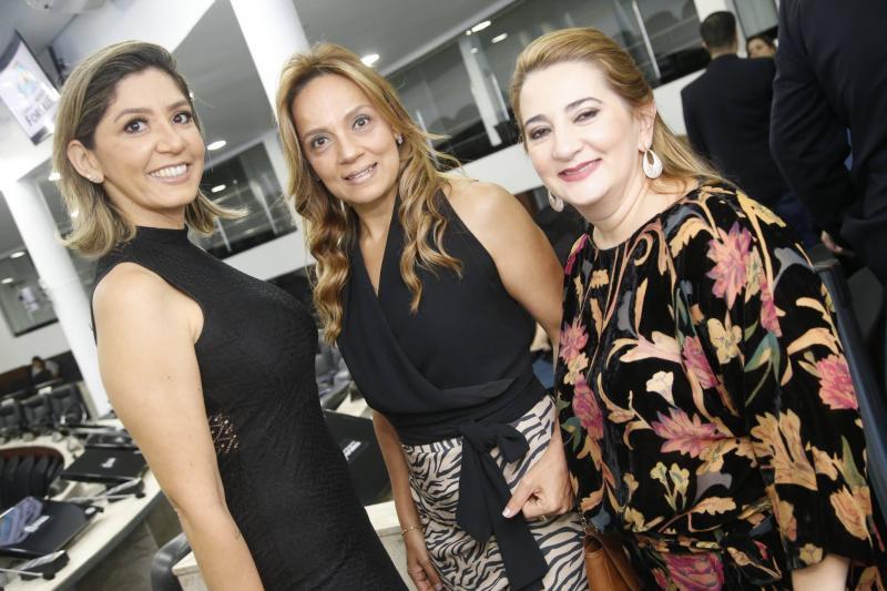 Karine Braga, Cristina Tavares e Neila Albuquerque