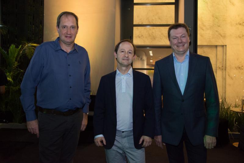 Denis Lichtblau, Cesar Cini e Carlos Gelatti