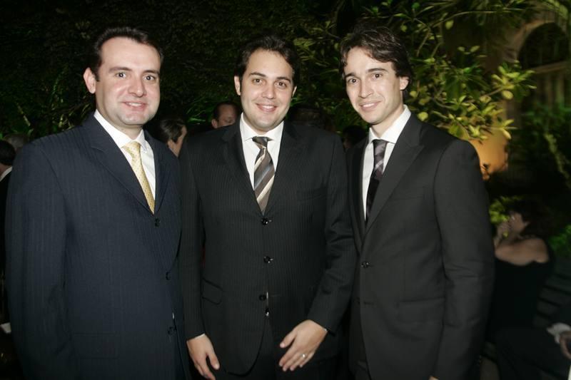 Fernando Gurgel, Bruno Bastos e Rodrigo Carvalho