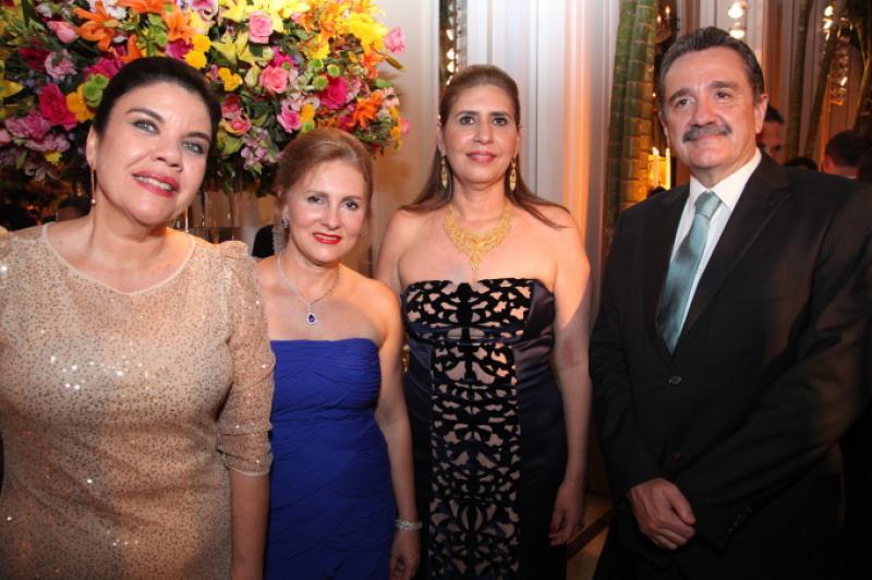 Ana Juacaba, Renata Jereissat, Marcia Jereissati, Bismarck Maia