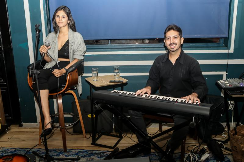 Rayanne Fortes e Felipe Adjafre