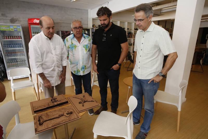 Silvio Frota, Ronaçd Assumpcao, Daniel Taveira e Heraclito Vieira 2