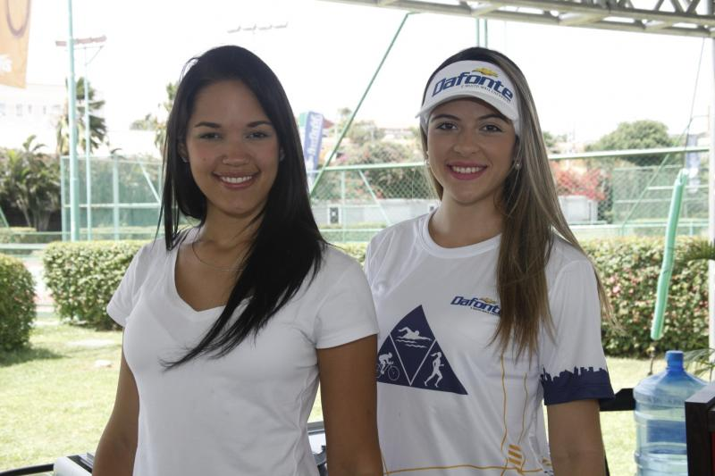 Tainá Tabosa e Glenda Castro