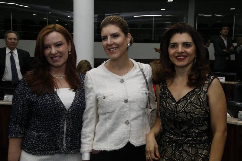 Aline Barroso, Carla Pereira e Rilka Bezerra