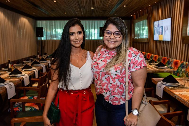 Greyce Matias e Mayara Oliveira
