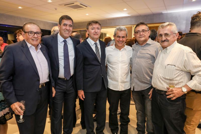 Valdecir Cavalcante, Luis Gastao Bittencourt, Mauricio Filizola, Zenir, Tadeu Rolim e Nelson Gomes