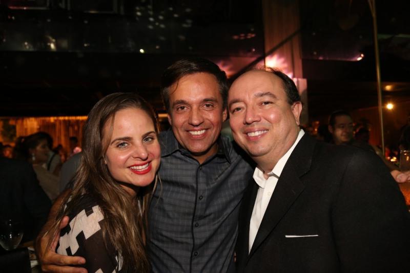Ana Virginia Furlane, Fernando Novaes e Weiber Xavier