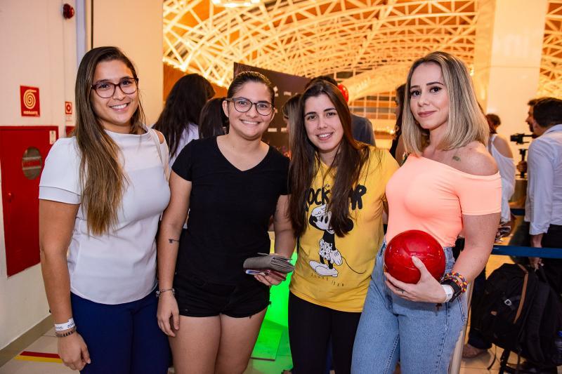 Clessia Godinho, Gislane Bezerra, Julia Moesia e Cristina Martins