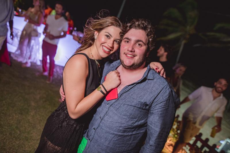 Rafaela Soares e Luciano Dias Branco