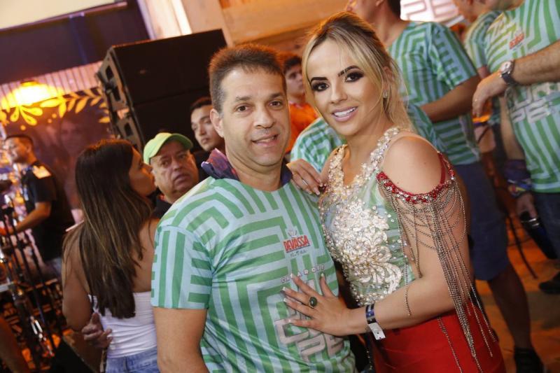 Edson Capelo e Adricia Cavalcante