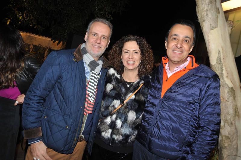 FERNANDO PIVA, MARCIMA LIMA E LEO JUNQUEIRA