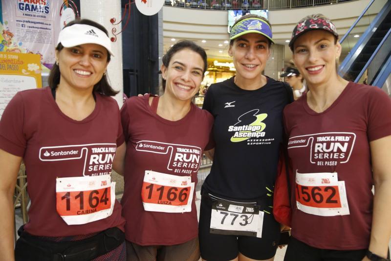 Carina Leite, Luiza Ameliam, Carol Bellaguarda e Erica Lobo