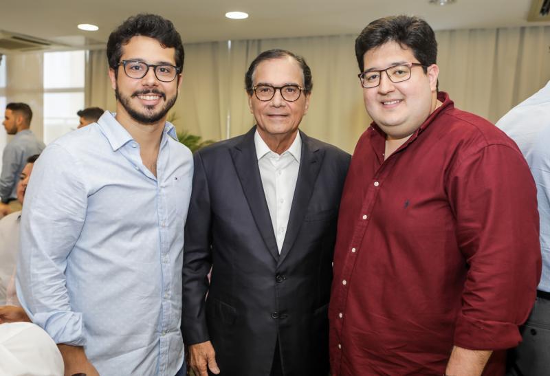 Rafael Fujita, Beto Studart e Yuri Torquato
