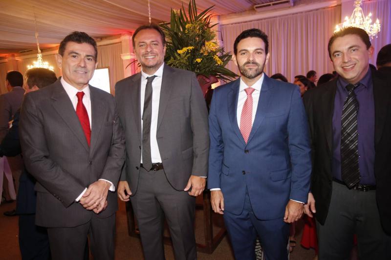 Alexandre Pereira, Adriano Nogueira, Clovis Holanda e Rodrigo Pereira