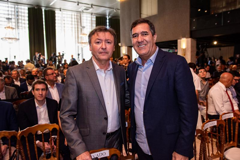 Mauricio Filizola e Luiz Gastao Bittencourt