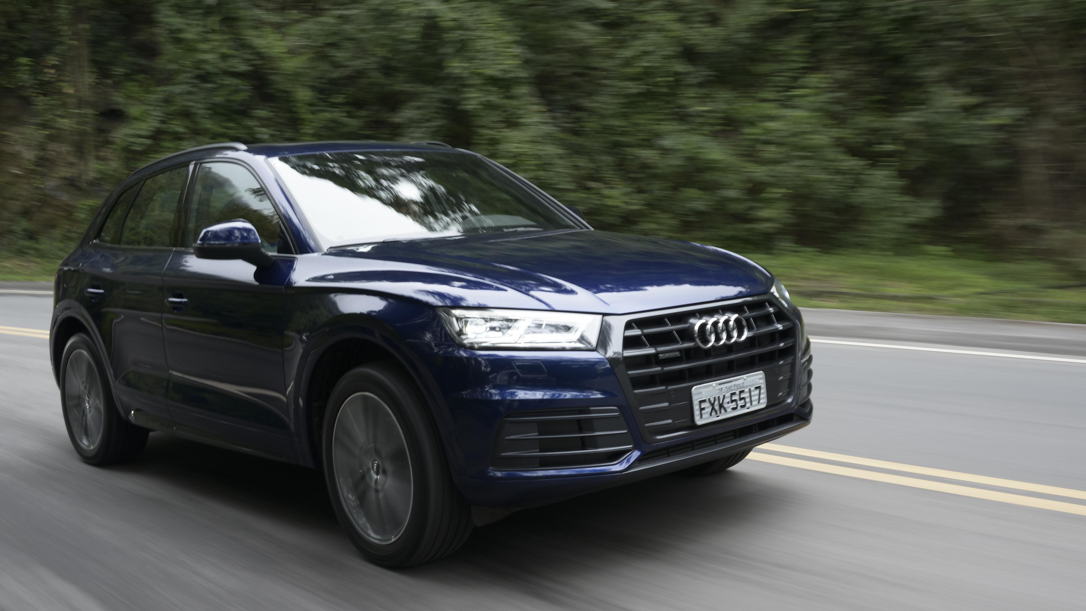 Audi Q5 à prova de fogo