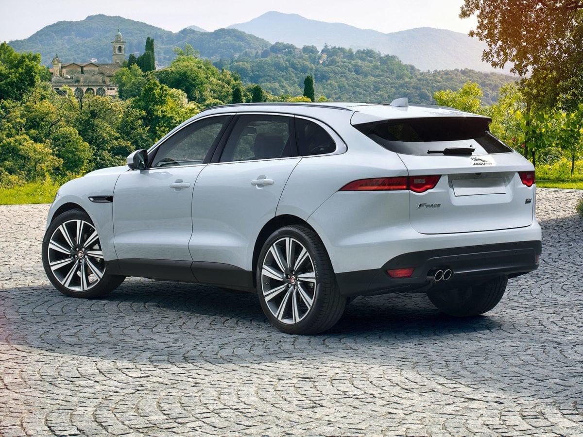 F-Pace 2018, da Jaguar, vem com novo motor