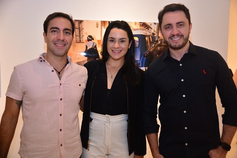 Iury Rodrigues, Mariana Fiuza e Welvio Cavalcante