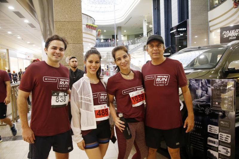 Reno Bertosi, Mnuela, Sandra e Eduardo Rolim