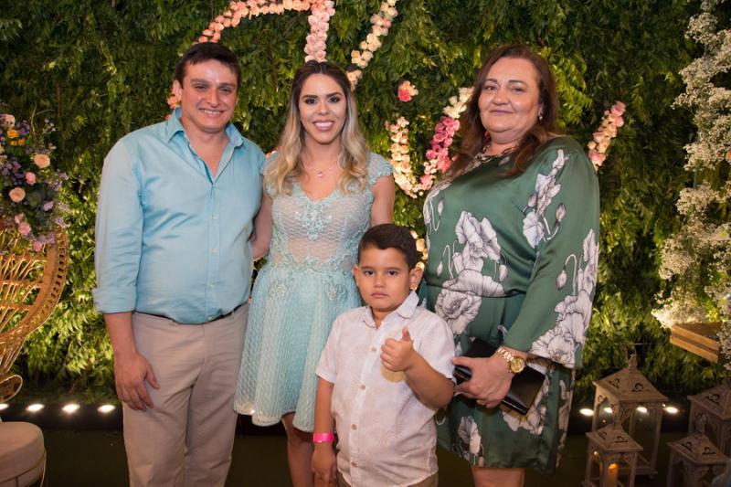 Giscard e Patricia Gurgel, Lorenzo Gomes e Maria Vidal