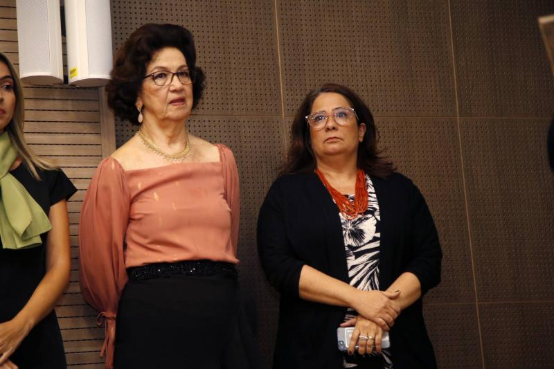 Alcilea Vieira e Ana Maria