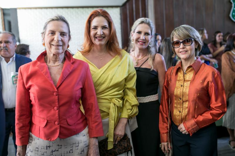 Annea Freire, Enide Camara, Marjore Marchal e Circe Jane