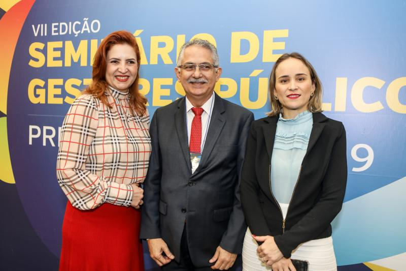 Enide Camara, Nilson Diniz e Fernanda Pacobahyba