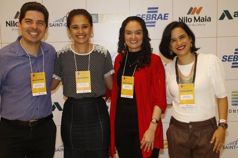 Paulo Junior, Brena Gomes, Ana Cristina e Morena Garcia