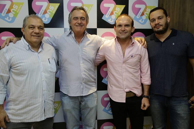 Waldo Santos, Quintino Feitosa, Liberato Junior e Filipe Celedonio