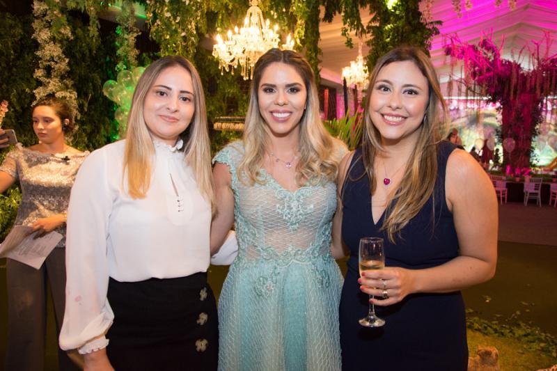 Marcela Diogenes, Patricia Gurgel e Paula Figueiredo