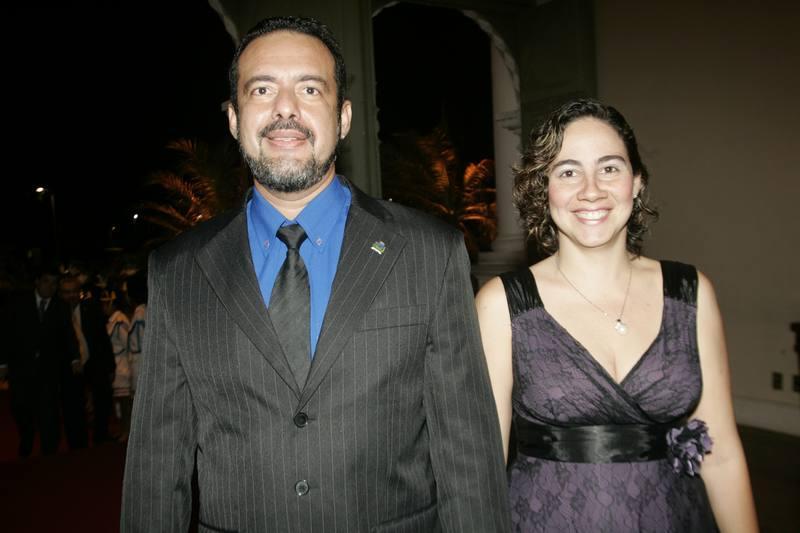 Demetrius e Luciana Barroso