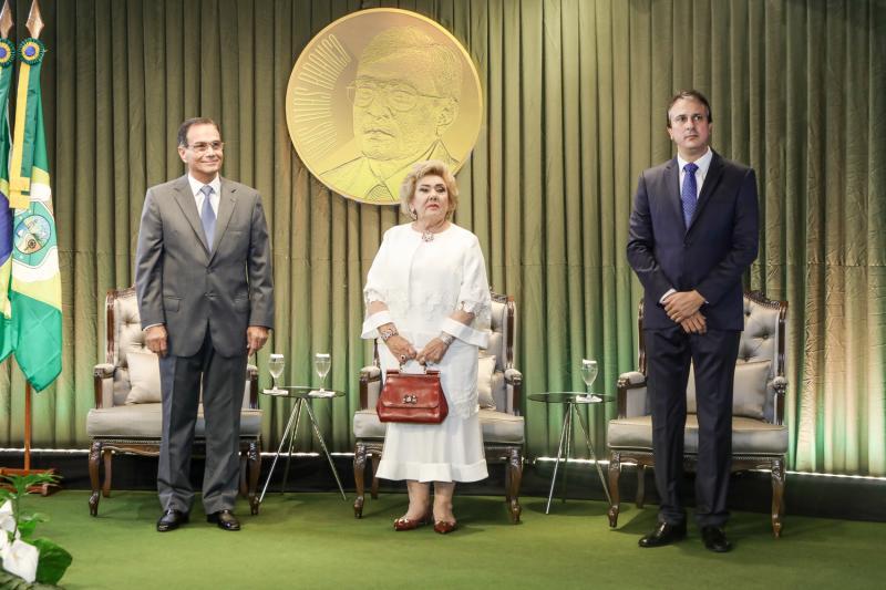Beto Studart, Consuelo Dias Branco e Camilo Santana