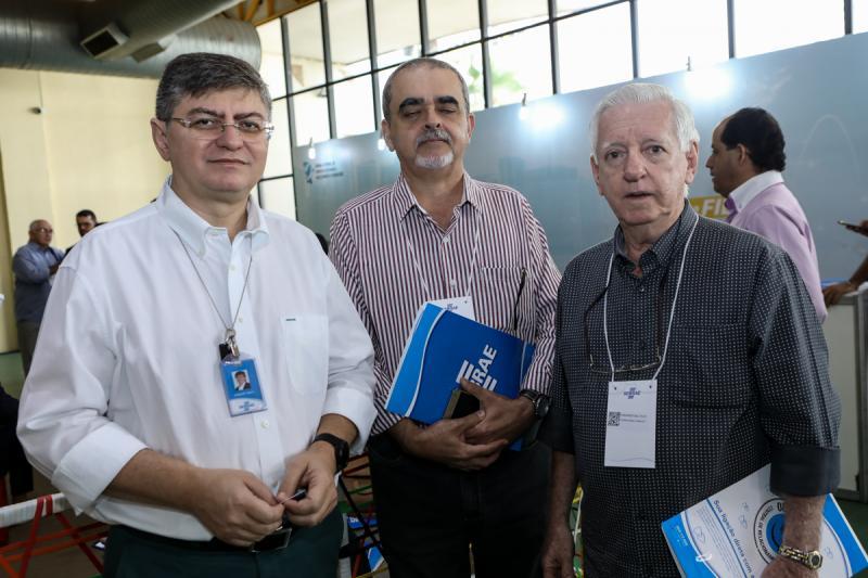 Herbert Melo, Sergio Meireles e Fernando Dallolio