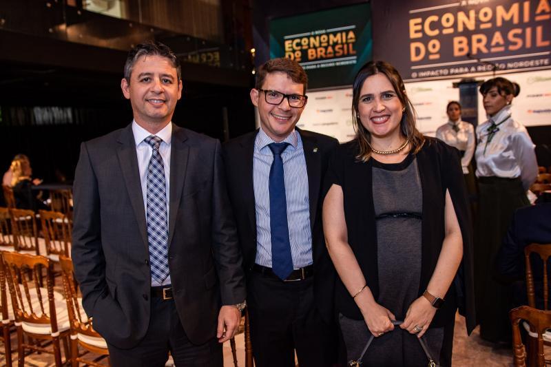 Bergson Pereira, Carlos Mota e Ana Leal