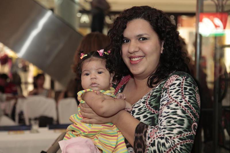 Valentina Marques e Marjorie Marques Nogueira