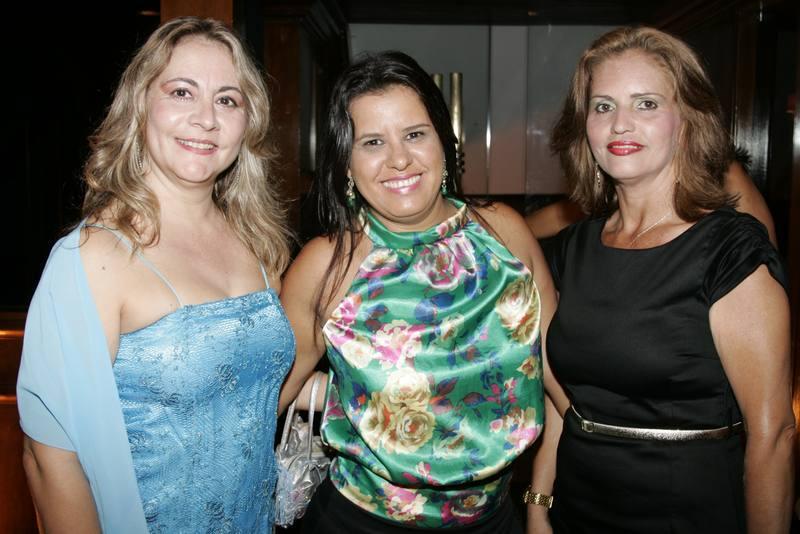 Marilene de Fatima, Nalva Lopes e Marcilene Oliveira