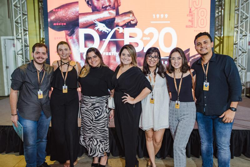 Joao Pedro, Myrlla Gomes, Renata Benevides, Karla Rodrigues, Mariana Amorim, Nyara Cavalcante e Elias Bruno