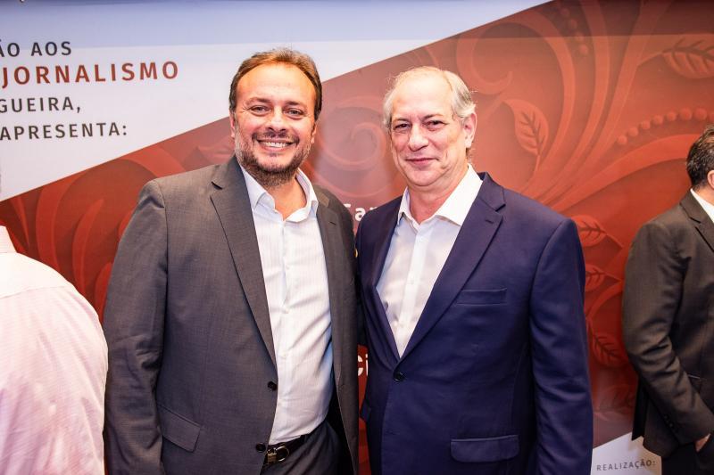 Adriano Nogueira e Ciro Gomes