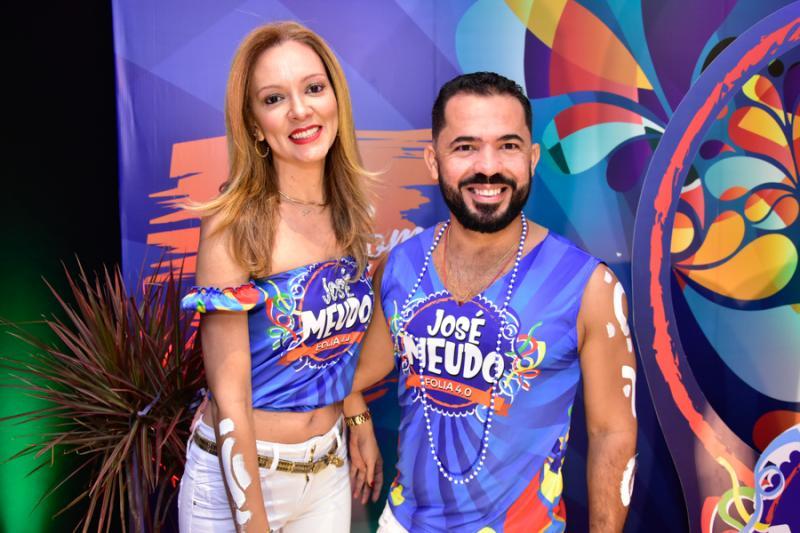 Karine Ferreira e Naldo Almeida